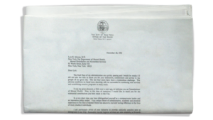 Letter From Mayor Dinkins